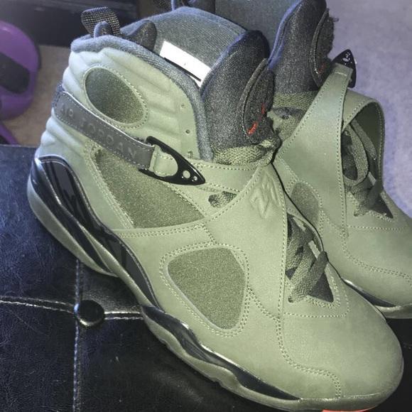 Air Jordan Olive Green 8s | Poshmark